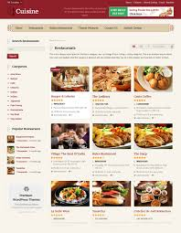 best restaurant directory theme 2017 cuisine restaurant