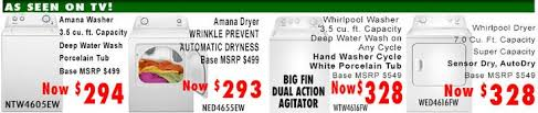 black friday deals on washers and dryers labor day deal at appliance direct home appliances refrigerators