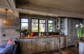 reclaimed barnwood floor for kitchen layout outofhome