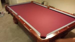 Imperial Pool Table by Imperial Pool Table Assembly With New Felt Refelt In Colorado