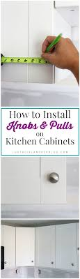 Where To Put Knobs On Kitchen Cabinets Kitchen Progress And Hardware Installation Just A And