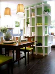 and small dining room design with storage ideas