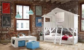 cabane dans chambre lit cabane superposé secret de chambre