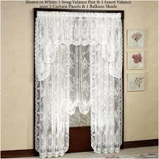 curtains u0026 drapes wonderful white lace curtains magnificent