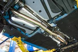 Ford Escape Exhaust System - armytrix stainless steel exhaust system dual titanium tips ford