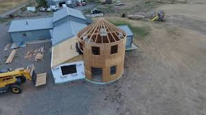 Grain Silo Homes by Grain Bin House Update 08 29 16 Youtube