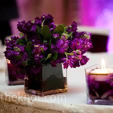 irresistible purple wedding flower centerpieces the wedding