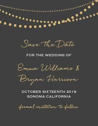 Ceremony Cards F Save The Date Cards Match Your Colors U0026 Style Free Basic Invite