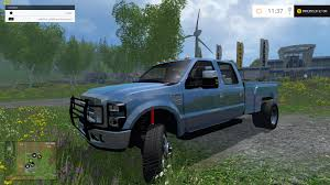 ford truck blue f350 ford diesel pickup blue car farming simulator 2017 2015