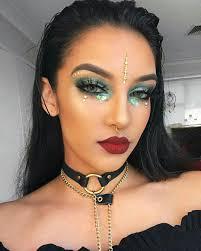 halloween makeup for black skin