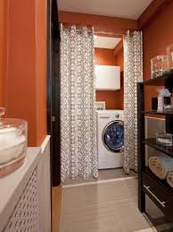 How To Make A Closet With Curtains 10 Clever Storage Ideas For Your Tiny Laundry Room Hgtv U0027s