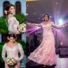 discount modest 2015 indian wedding dresses long sleeves plus size