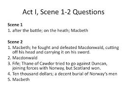 act ii scene iii reading questions