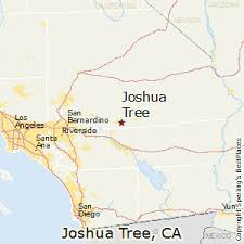 joshua tree california map best places to live in joshua tree california