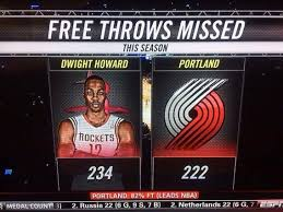 Dwight Howard Memes - the trail blazers have missed fewer free throws than dwight howard
