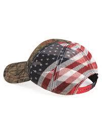 Usa Flag Hats Outdoor Cap Cwf400m American Flag Mesh Back Camo Cap
