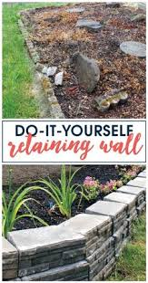 build your own rock wall for the garden rock walls and gardens