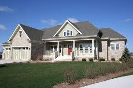 home design craftsman style ranch homes decks landscape