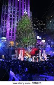 the 82nd annual rockefeller christmas tree lighting ceremony at