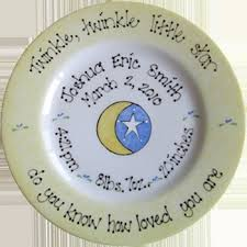 birth plates personalized 51 best christenings pottery ideas images on pottery