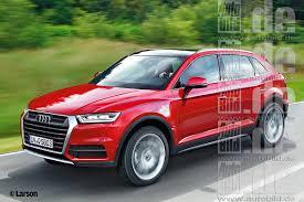 Audi Q5 Next Generation - 2016 audi q5 rendered with cues from 2015 audi q7
