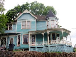 Queen Anne House Plans by Blue Queen Anne Victorian Charles Huntley Historic House 4 U2026 Flickr