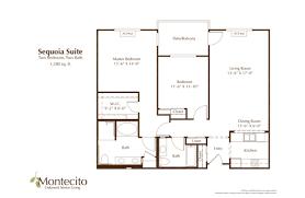 floor plans oakmont of montecito
