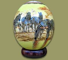 ostrich egg painted ostrich eggs wholesale supplier earth africa curio