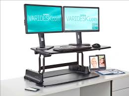walmart stand up desk stand up adjustable desk the innovative standing from varidesk for