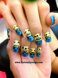 minions craze cute nail art award winning beauty blogger