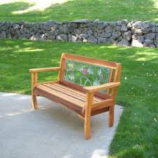 Outdoor Garden Bench Plans by Red Cedar English Garden Bench Pictures With Appealing Cedar Wood