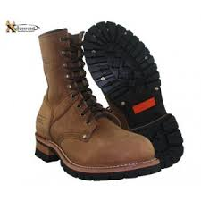 Women S Xelement Brown Lace Up Motorcycle Boots