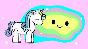 imagenes de unicornios en caricatura el cuento del slime de unicornio caricaturas kawaii youtube