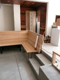 lower banquette seating construction photo of bench built u2026 flickr
