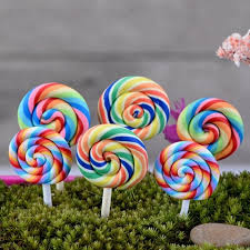 aliexpress buy 2pcs resin lollipop garden decoration