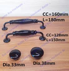 Black Kitchen Cabinet Knobs And Pulls Compare Prices On Black Cabinet Hardware Online Shopping Buy Low