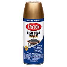 shop krylon high heat copper enamel spray paint actual net