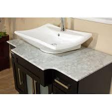 bellaterra home 604023b single sink bathroom vanity soft close