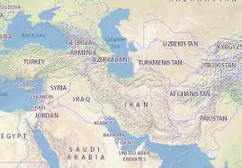 map iran map of iran michelin iran map viamichelin