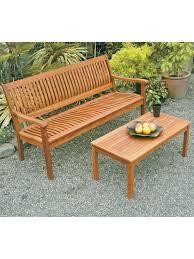 Outdoor Wood Furniture Garden Bench Outdoor Wood Bench 5 Ft Eucalyptus Bench