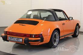 orange porsche 911 convertible classic 1978 porsche 911 sc targa cabriolet roadster for sale