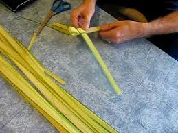 palm sunday crosses how to make an easter palm cross