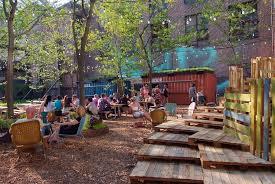 Backyard Beer Garden - groundswell design group