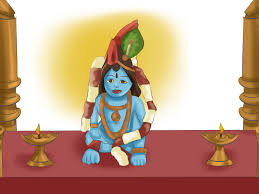 How To Decorate Janmashtami At Home by How To Perform Puja To Krishna 9 Steps With Pictures Wikihow