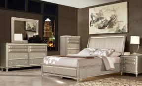 Piece Glam Queen Bedroom Collection - 7 piece bedroom furniture sets