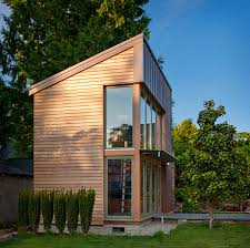 tiny house garden pavilion sits in a seattle backyard lipstick