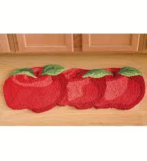 Fruit Kitchen Rug Sets Endearing Apple Kitchen Rug Sets 3 Piece Kitchen Rug Set