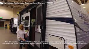 keystone springdale summerland series 1750rd youtube