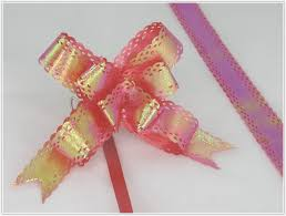 decorative bows pack of 50 5 colors pull string ribbon bows ideas for decorative