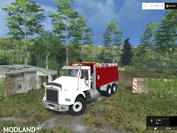 2015 kenworth dump truck kenworth dump v 2 0 mod for farming simulator 2015 15 fs ls